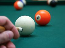 bollbilliard Royaltyfria Foton