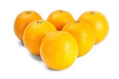 bollbilliard like apelsiner Royaltyfria Foton