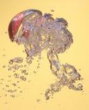 Bolle in acqua. Immagini Stock Libere da Diritti