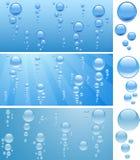 Bolle in acqua. Fotografie Stock Libere da Diritti
