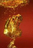 Bolle ambrate Fotografie Stock Libere da Diritti