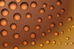 Bolle arancioni Fotografia Stock