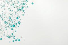 Bolle blu del gin Fizz Immagine Stock