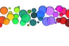 Bolle colorate illustrazione vettoriale