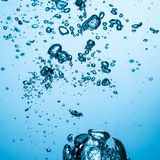 Bolle dell'acqua fotografia stock