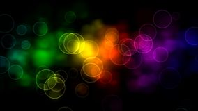 Bolle dell'arcobaleno illustrazione vettoriale