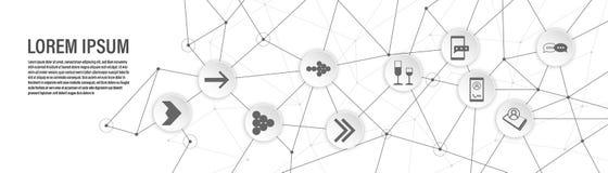 bolle dell'icona di conversazione Dall'insieme di web royalty illustrazione gratis