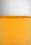 Bolle della birra fotografia stock libera da diritti