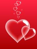 Bolle di amore. Immagini Stock