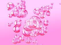 Bolle di aria II illustrazione di stock