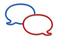 Bolle di conversazione royalty illustrazione gratis