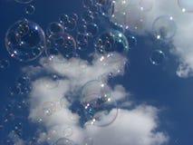 bolle di sapone Fotografia Stock Libera da Diritti