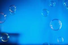 Bolle di sapone dell'arcobaleno Fotografia Stock Libera da Diritti