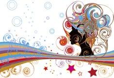 Bolle e stelle illustrazione vettoriale