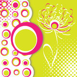 bolle fiore e Obrazy Royalty Free