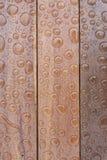 Bolle sul bordo di legno Immagini Stock Libere da Diritti