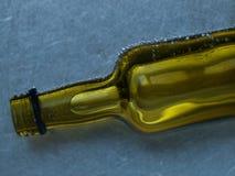 Bolle sulla bottiglia Fotografia Stock
