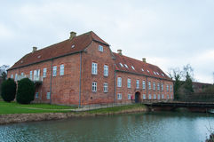 Boller Castle. Picture of the castle Boller Slot from Horsens, Denmark Royalty Free Stock Photography