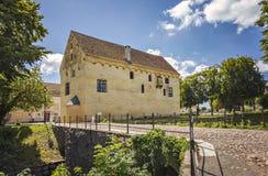 Bollerup中世纪庄园住宅 免版税库存图片