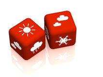 Bollettino meteorologico illustrazione di stock