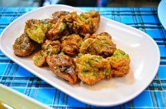 bollfisken stekte kryddigt Royaltyfria Bilder