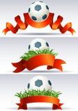 bollfotboll stock illustrationer