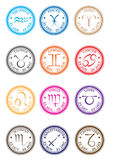 Bolli dello zodiaco Fotografie Stock