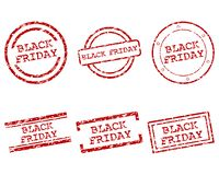 Bolli di Black Friday illustrazione di stock