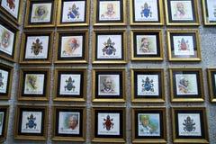 Bolli di Vaticans Immagine Stock
