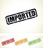 Bolli importati illustrazione di stock