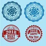 Bolli rotondi del nuovo anno Fotografia Stock Libera da Diritti