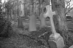 Bollington Cemetery Royalty Free Stock Photos