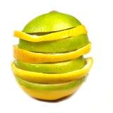 bolllimefrukter Royaltyfri Fotografi