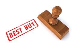 Bollo Best Buy Fotografia Stock Libera da Diritti