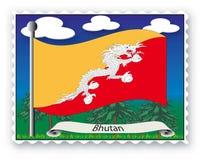 Bollo Bhutan Immagini Stock