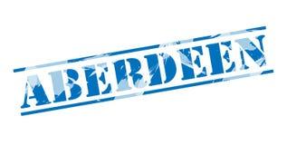 Bollo blu di Aberdeen Fotografie Stock Libere da Diritti