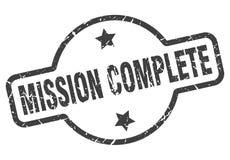 Bollo completo di missione royalty illustrazione gratis