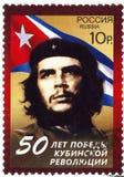 Bollo con Che Guevara Fotografia Stock Libera da Diritti