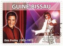 Bollo con Elvis Presley Fotografie Stock Libere da Diritti