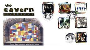 Bollo con il Beatles Fotografia Stock Libera da Diritti
