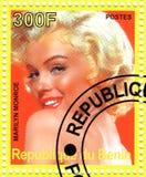 Bollo con Marilyn Monroe Fotografia Stock
