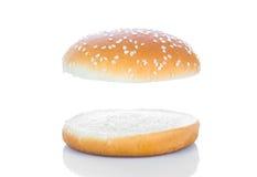Bollo de hamburguesa Fotografía de archivo