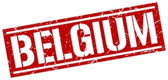 Bollo del Belgio Fotografia Stock Libera da Diritti