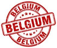 Bollo del Belgio illustrazione di stock