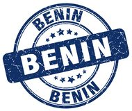 Bollo del Benin Illustrazione Vettoriale