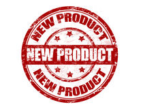 Bollo del nuovo prodotto royalty illustrazione gratis