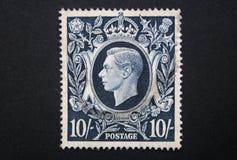 Bollo del re George VI Immagine Stock