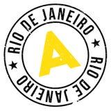 Bollo del Rio de Janeiro Immagini Stock Libere da Diritti
