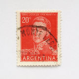 Bollo dell'Argentina Immagine Stock Libera da Diritti