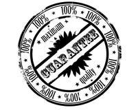 Bollo dell'inchiostro - qualità di massimo di garanzia Fotografie Stock Libere da Diritti
